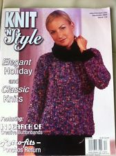 Knit,n',Style,Real,Fashion,for,Knitters,December,2004,Knit n' Style Real Fashion for Real Knitters December 2004,knit,crochet,patters,instructions,kg krafts