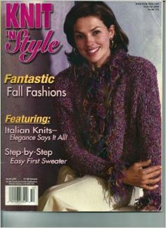 Knit n' Style Real Fashion for Real Knitters October 2004 - product images