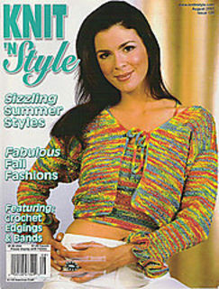 Knit,n',Style,Real,Fashion,for,Knitters,August,2003,Knit n' Style Real Fashion for Real Knitters August 2003,knit,crochet,patters,instructions,kg krafts