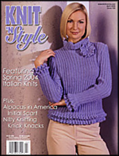 Knit n' Style Real Fashion for Real Knitters April 2004 - product images