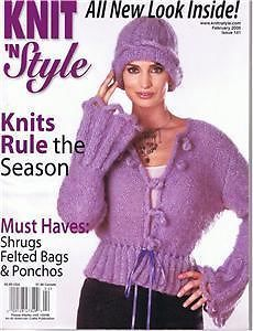 Knit,n',Style,Real,Fashion,for,Knitters,February,2006,Knit n' Style Real Fashion for Real Knitters February 2006,knit,crochet,patters,instructions,kg krafts