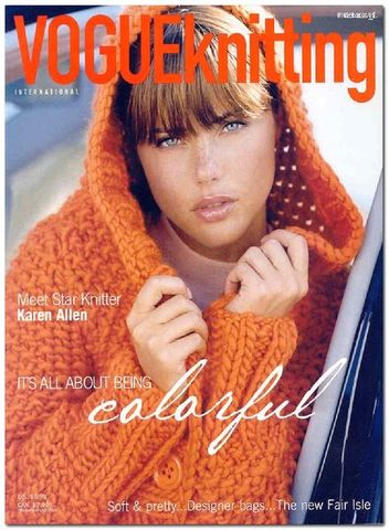 Vogue,Knitting,Winter,2004/2005,Vogue Knitting,  Winter 2004/2005, Classic Vogue, sweaters, family knit, designers