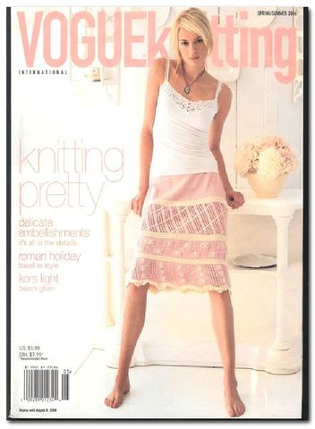 Vogue,Knitting,Spring/Summer,2006,Vogue Knitting, Spring/Summer 2006, Classic Vogue, sweaters, family knit, designers