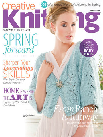 Creative,Knitting,Spring,2013,Creative Knitting July 2007,kg krafts,craft supplies,knit,crochet