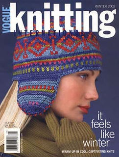 Vogue,Knitting,Winter,2002,Vogue Knitting, Winter 2002, Classic Vogue, sweaters, family knit, designers