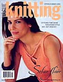 Vogue  Knitting Spring/Summer 2004 - product images