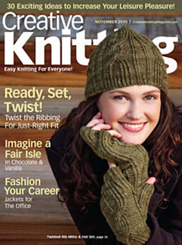 Creative Knitting November 2010 - product images