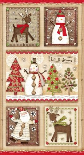 Holiday Stitches from SPX Fabrics - product images
