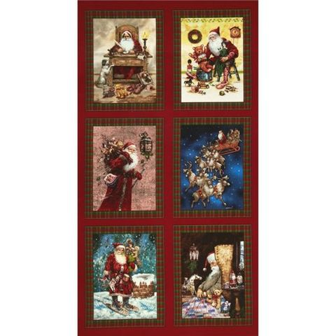 A,Day,In,The,Life,of,Santa,Panel,A Day In The Life of Santa Panel,holiday,kg krafts,yardgoods,fabric,batik,cotton