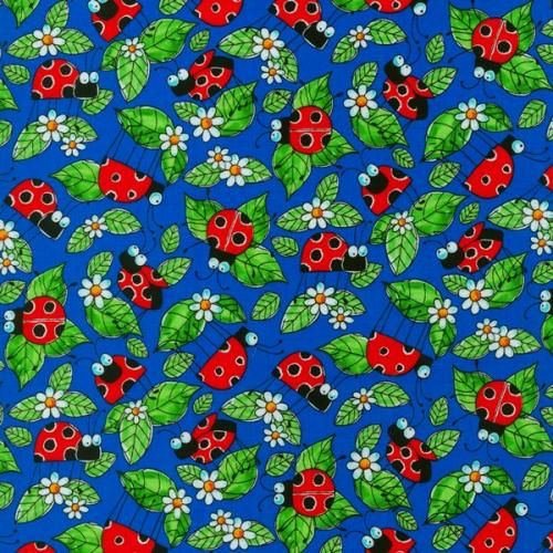 Assorted Bugs Bugsters Quilt Fabric from Blank Quilting - product image