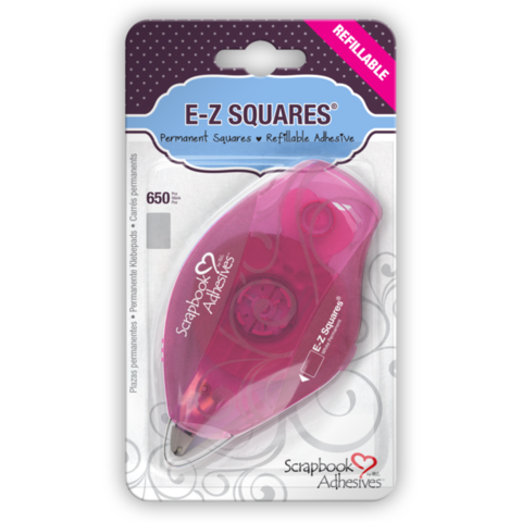 E-Z,Squares®,Refillable,Dispenser,kg krafts,e-z squares,scrapbook adhesives,3L,scrapbook supplies,card making supplies,paper crafts,craft supplies