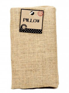 Burlap,Pillow,Rectangle,burlap,pillow,retangle,premade pillow,kg krafts,canvas corp,craft supplies,home decor,sewing