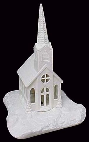 Scioto,Church,in,Ready,to,Paint,Ceramic,Bisque,Scioto Church,ceramic bisque,ready to paint,ceramics, bisque,kg krafts