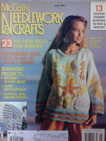 McCalls,Needlework,and,Crafts,June,1991,McCalls Needlework & Crafts June 1991,kg krafts,knit,crochet,craft, patterns