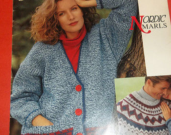 Bouquet,Nordic,Marls,no.,1230,Bouquet Nordic Marls, no. 1230,knit,crochet,books,patterns,kg krafts,sweaters