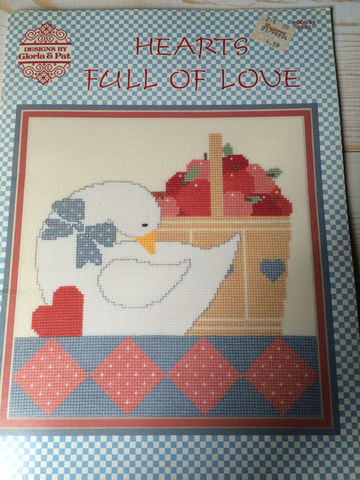 Hearts,Full,of,Love,Designs,by,Gloria,and,Pat,book,no,59,Hearts Full of Love Designs by Gloria and Pat book no 59,counted cross stitch,kg krafts,stitchery,cross stitch