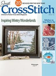 Just,Cross,Stitch,Magazine,February,2016,Just Cross Stitch  Magazine February 2016 ,kg krafts,counted cross stitch,needlework, crafts,craft supplies