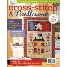 Cross-Stitch & Needlework Magazine July 2012 - product images
