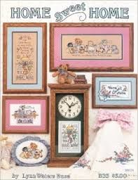 Home,Sweet,By,Lynn,Waters,Busa,Counted,Cross,Stitch,Home Sweet Home By Lynn Waters Busa , counted cross stitch, kg krafts,cross stitch patterns
