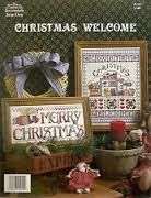 Christmas,Welcome,by,Jeremiah,Junction,JL,103,Christmas Welcome by Jeremiah Junction JL 103,counted cross stitch,kg krafts