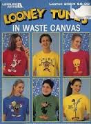 Looney,Tunes,in,Waste,Canvas,Leisure,Arts,leaflet,2564,for,Counted,Cross,Stitch,Looney Tunes in Waste Canvas, Leisure Arts, leaflet 2564 , Counted Cross Stitch,kg krafts,needlework