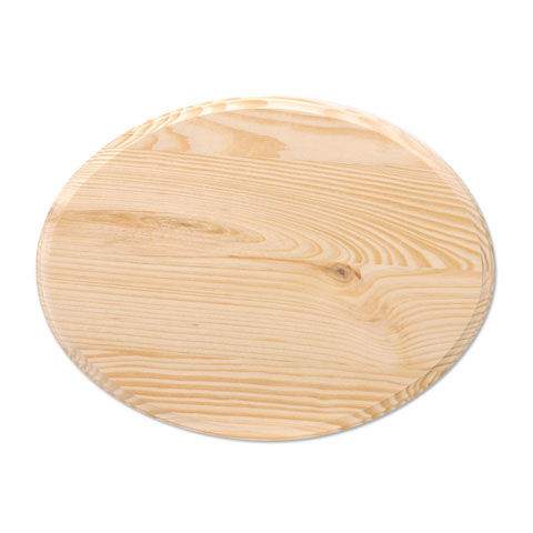 Wood Plaque - Oval - 9 x 12 inches - product images