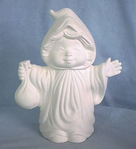 Witch,Kid,7,Tall,Dona,Molds,dona molds,ghost,ceramic bisque,bisque,ready to paint,kg krafts,painting surface