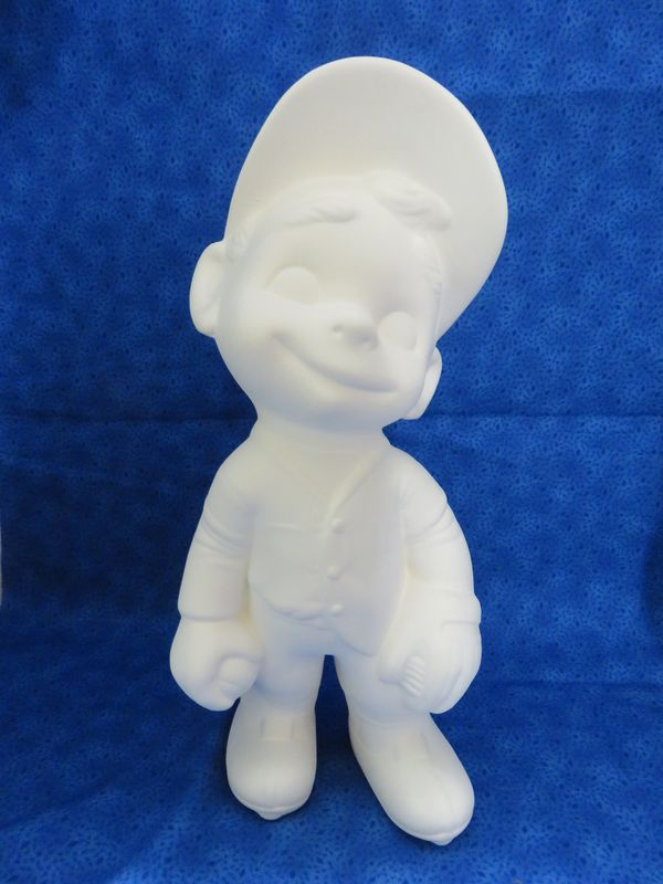 Provincial Molds Smiley Baseball Player in ready to paint ceramic bisque - product images