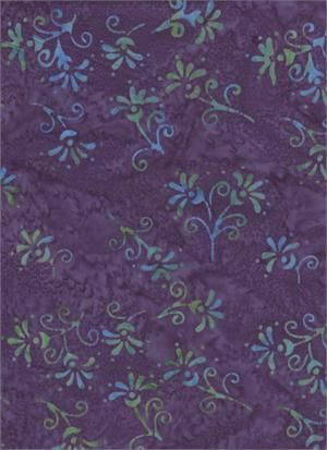 Riviera Rhythm  Cotton Fabric from Batik Textiles - product image