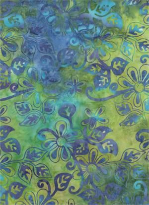 Batik 100% Cotton Fabric from Batik Textiles Brasillia Collection - product image