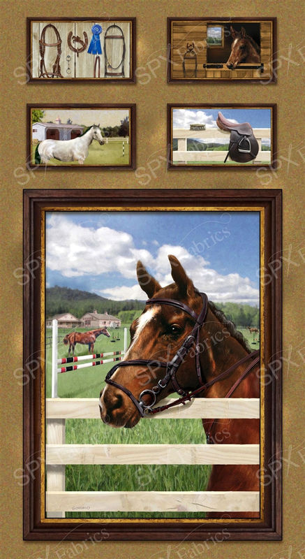 WORLD OF HORSES BLOCKS by GIORDANO for SPECTRIX SPX - product image