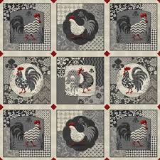 Poulets,de,Provence,by,Steve,Haskamp,for,SPX,Fabrics,Poulets de Provence,Steve Haskamp,SPX Fabrics,kg krafts,quilting,sewing,fashion,home decor