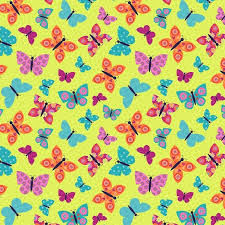 Wings-n-Things Cotton Fabric by Small Factory for Studio E Fabrics Butterflies - product image