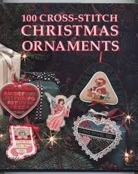 100 Cross Stitch Christmas Ornaments by Leisure Arts - product images