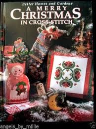 A Merry Christmas in Cross Stitch by Leisure Arts - product images