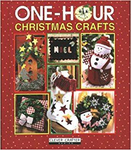 One,Hour,Christmas,Crafts,by,Clever,Crafter,One Hour Christmas Crafts ,Clever Crafter ,Leisure Arts, Counted Cross Stitch,kg krafts,dmc,needlework,needle arts