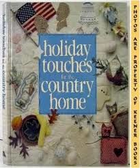 Holiday,Touches,for,the,Country,Home,by,Leisure,Arts,Publications,Inspirational Cross Stitch,Bucilla Design Group ,Sterling/Chapplle,Leisure Arts, Counted Cross Stitch,kg krafts,dmc,Christmas,needlework,needle arts