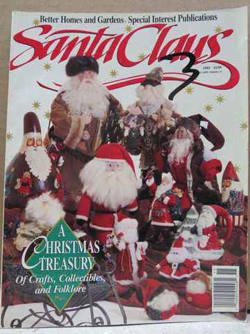 Better,Homes,and,Gardens,Special,Interest,Publications,Santa,Claus,Better Homes and Gardens Special Interest Publications,Santa Claus,Leisure Arts, Counted Cross Stitch,kg krafts,dmc,Christmas,needlework,needle arts