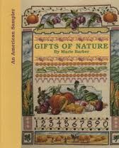 An,American,Sampler,Gifts,of,Nature,by,Maire,Barber,for,Meredith,Press,An American Sampler Gifts of Nature,Maire Barber,Meredith Press,Leisure Arts, Counted Cross Stitch,kg krafts,dmc,Christmas,needlework,needle arts