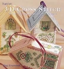 3-D,Cross,Stitch,by,Meg,Evershed,for,Hamlyn,Productions,3-D Cross Stitch,Meg Evershed ,Hamlyn Productions,Leisure Arts, Counted Cross Stitch,kg krafts,dmc,Christmas,needlework,needle arts