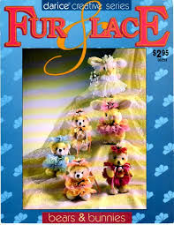 Darice,Creative,Series,Fur,and,Lace,Bears,Bunnies,Darice Creative Series, Fur and Lace Bears and Bunnies,kg krafts,cross stitch,doilies,projects,instructions,pillow,home decor,three needles, craft supplies,crafts,supplies,indie supplies