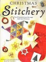Christmas,Stitchery,by,Jenny,Chippendale,and,Kate,Thorp,Christmas Stitchery, Jenny Chippendale,Kate Thorp,kg krafts,dmc,needlework,needle arts