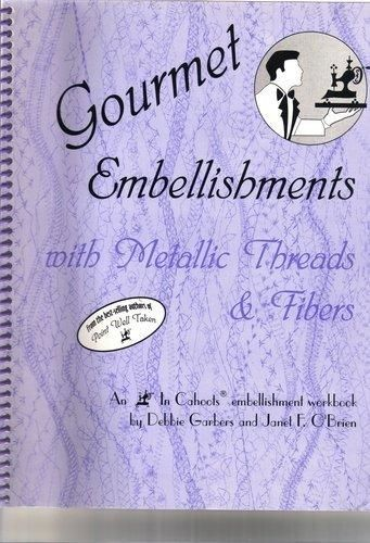Gourmet Embellishments with Metallic Threads and Fibers - product images