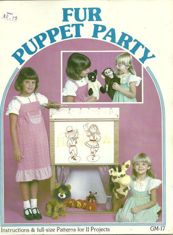 Fur,Puppet,Party,fur puppet party,kg krafts,dmc,Christmas,needlework,needle arts