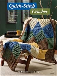Quick Stitch Crochet by Judy Crow for the Needlecraft Shop - product images