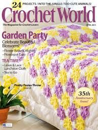 Crochet,World,April,2013,Crochet World April 2013,kg krafts,knit, patterns,crochet