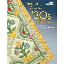 Threads,from,the,'30s,by,Nancy,J.,Martin,Threads from the '30s,Nancy J. Martin,kg krafts, home decor,sewing, crafting,supplies