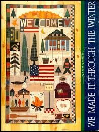 We Made it Through the Winter Quilting book by Country Threads - product images