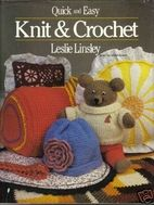 Quick,and,Easy,Knit,Crochet,by,Leslie,Linsley,Quick and Easy Knit and Crochet,Leslie Linsley,kg krafts, knit,crochet,socks,yarn
