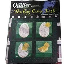 The Quilter Magazine presents The Egg Came First by Lucy Fazely - product images